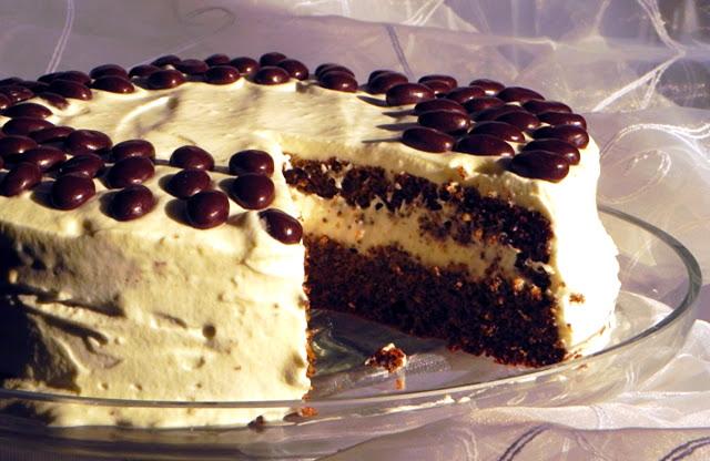 Szybki tort makowy