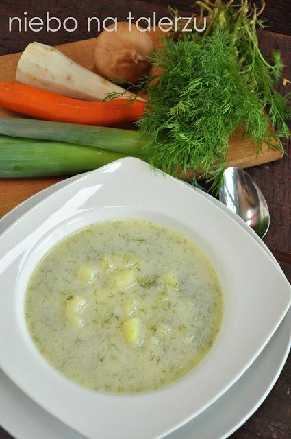 Zupa koperkowa