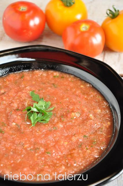 Chłodnik zpomidorów