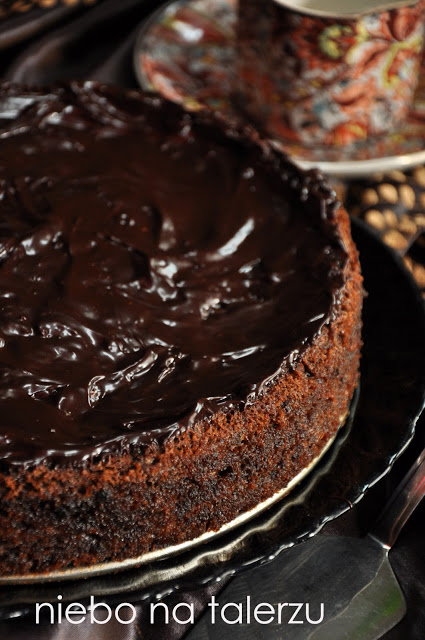 czekoladowe ciasto zcukinią