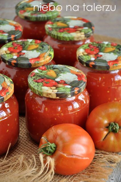 Pomidory wsłoikach