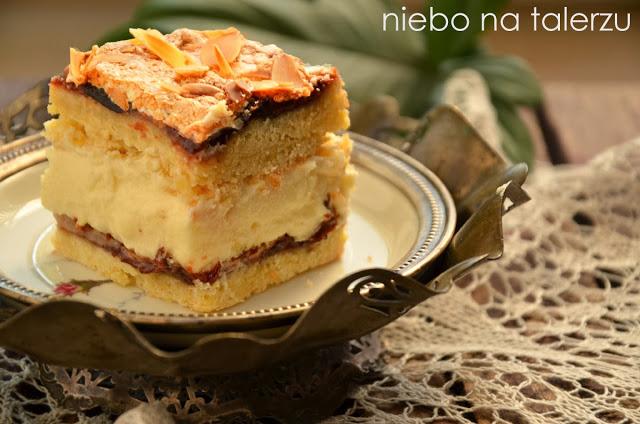 Kruche ciasto zkremem czyli Pani Walewska