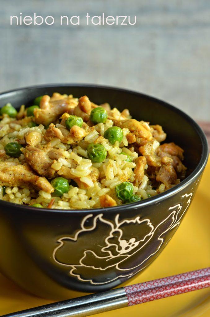 Ryż smażony zkurczakiem