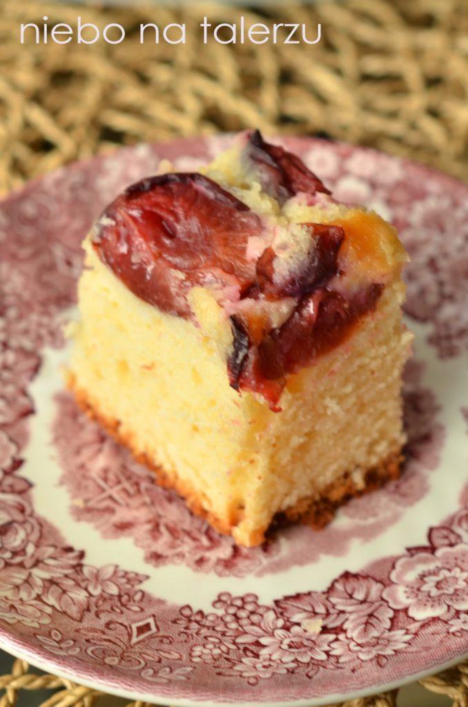 Łatwe ciasto ześliwkami