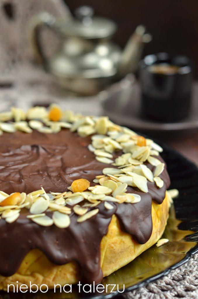 Ciasto zdynią zkaszy jaglanej.