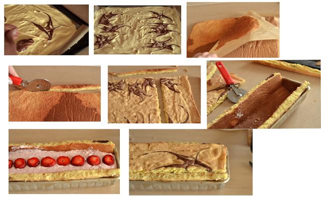 jak zrobić ciasto zkremem itruskawkami