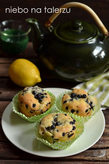 muffinki zjagodami