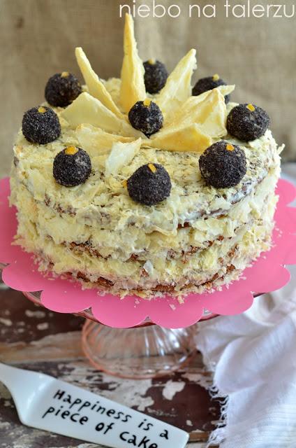 napoleoński tort makowy