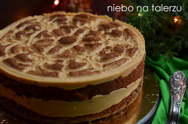 ciasto makowe zkremem karmelowym
