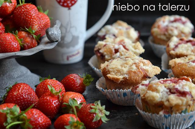 muffinki ztruskawkami
