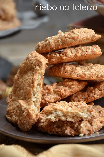 Łatwe ciasteczka sezamowe