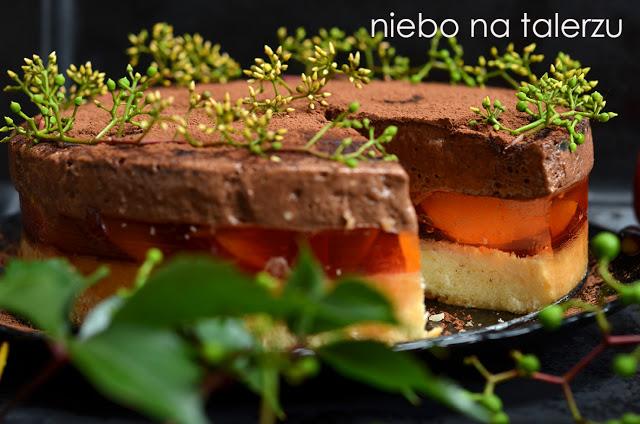 ciasto delicja brzoskwiniowa