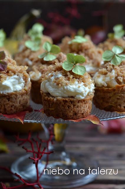 muffinki zdynią ijabłkami