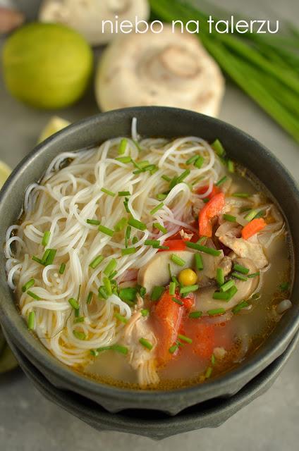 zupa zkurczakiem