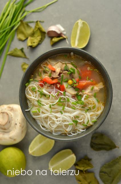 tajska zupa zkurczakiem