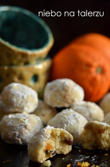 ciasteczka orzechowo - serowe