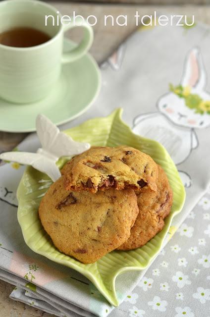 ciasteczka zczekoladą