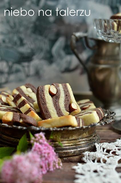 ciasteczka maślane zkakao
