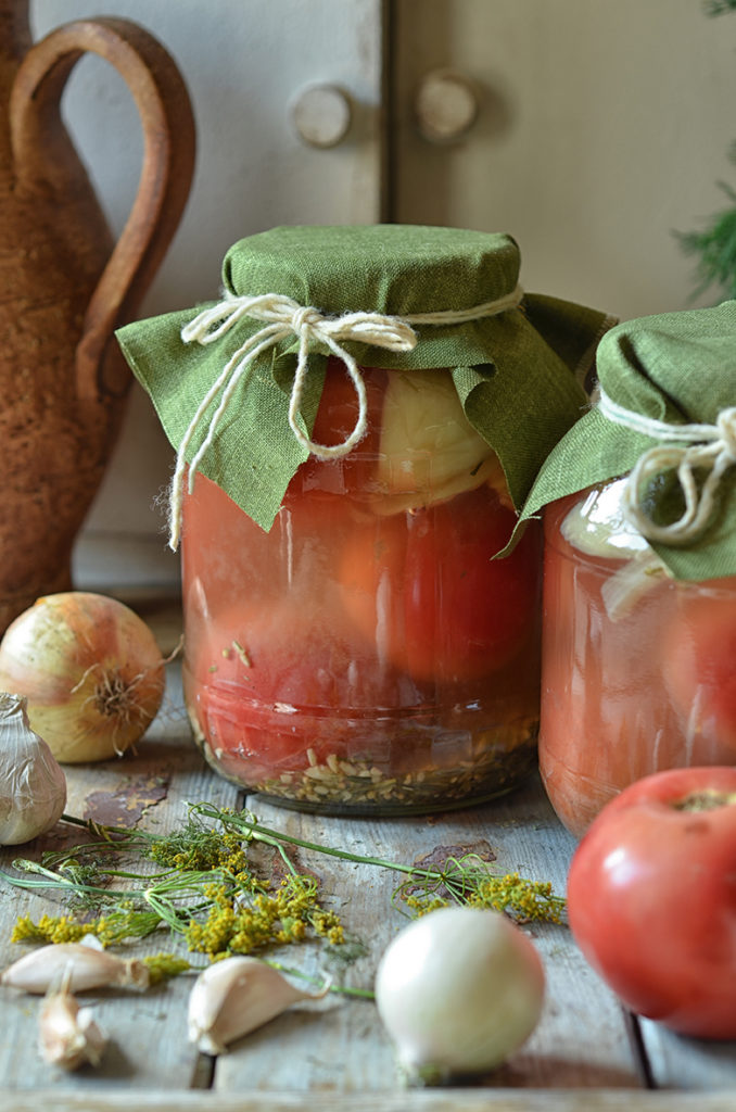 najlepsze kiszone pomidory
