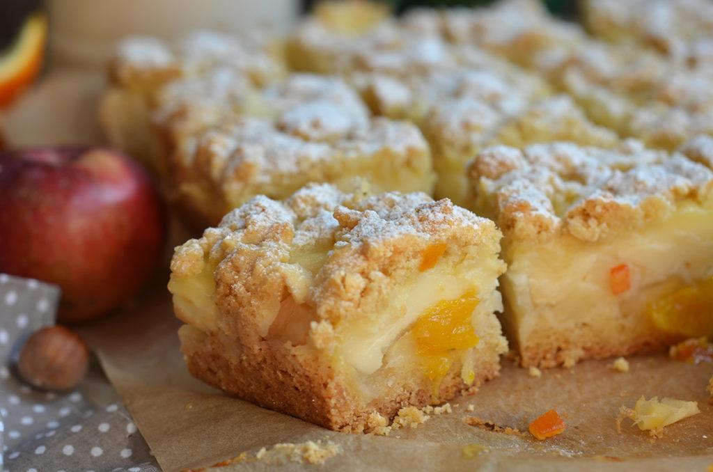 ciasto zjabłkami ipomarańczą