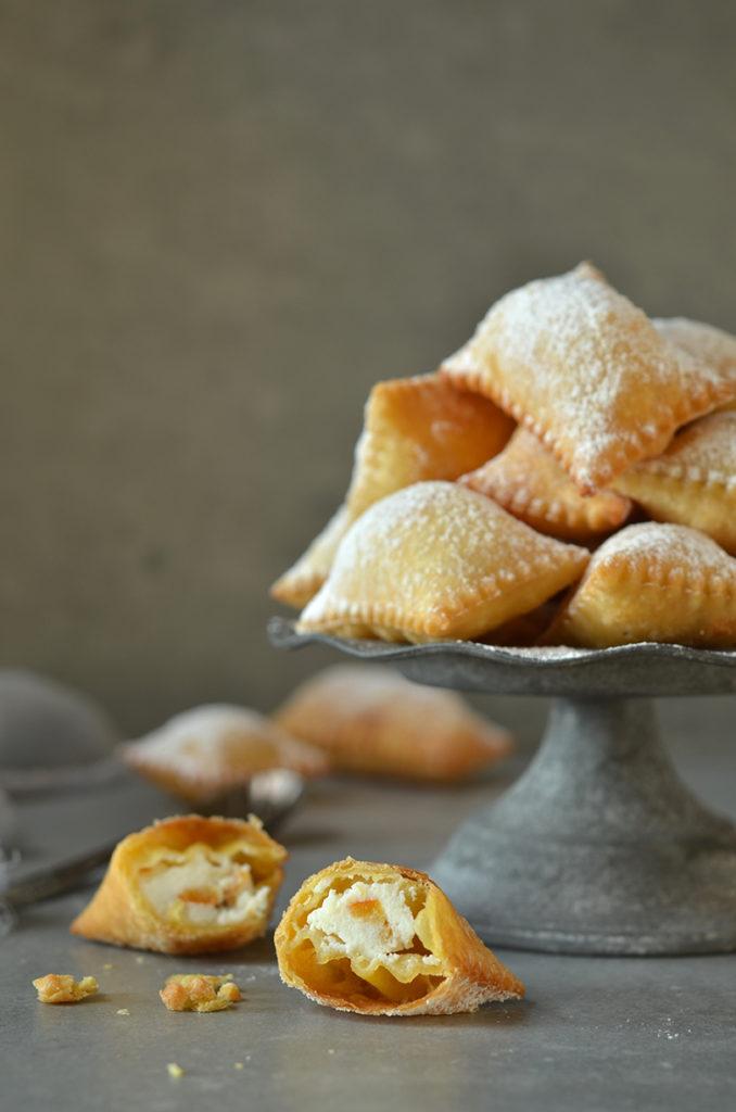 włoskie ciasteczka zricottą
