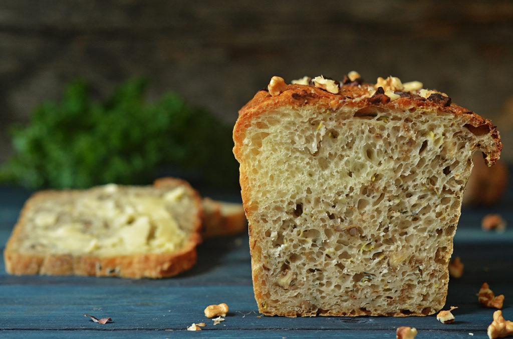 łatwy chleb zcukinią iorzechami