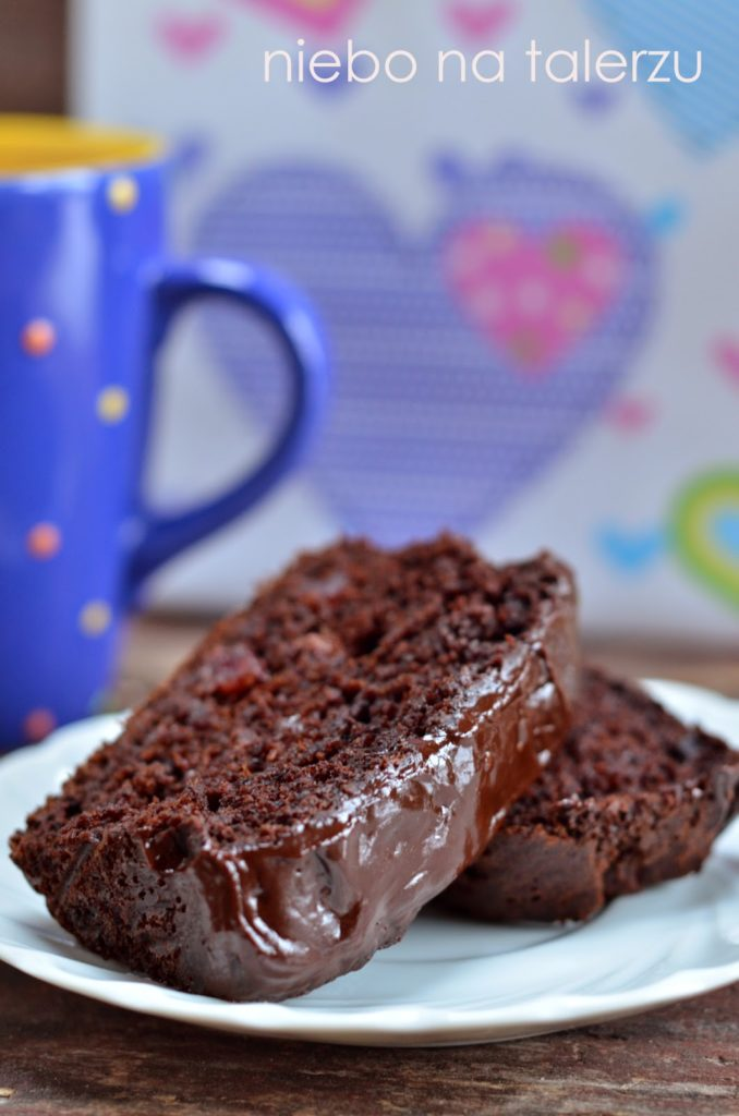 ciasto bananowe , mocno czekoladowe