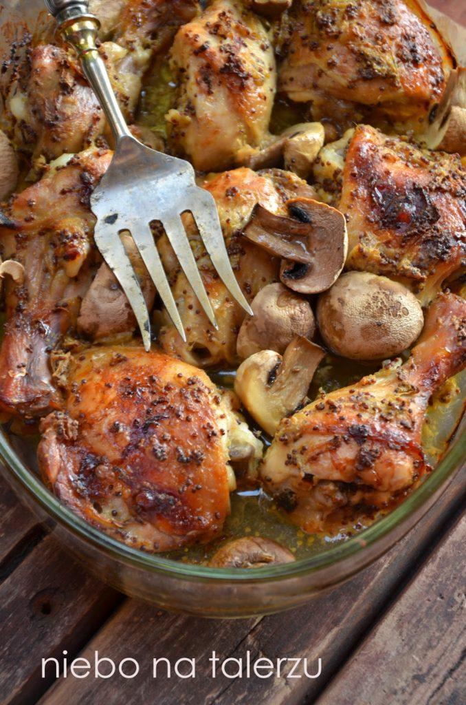 kurczak pieczony wmusztardzie
