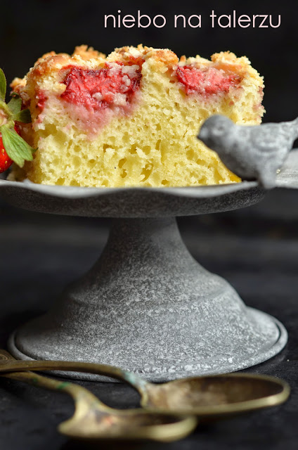 szybkie ciasto ztruskawkami