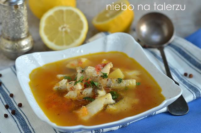 Łatwa idobra zupa rybna
