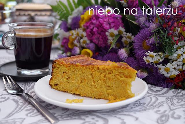 ciasto bezmąki zpomarańczy