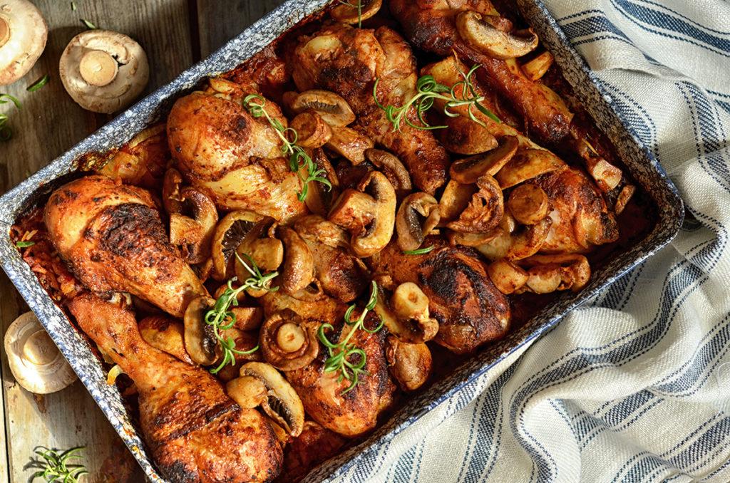 kurczak pieczony naryżu