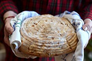 łatwy chleb na drożdżach