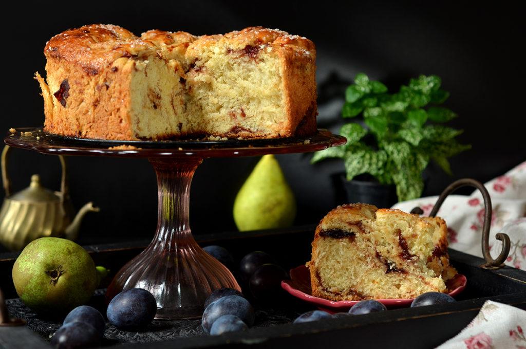bardzo dobre ciasto drożdżowe ześliwkami