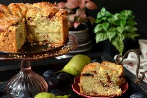 najlepsze ciasto drożdżowe ze śliwkami