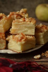 neiwidzialne ciasto z jabłkami