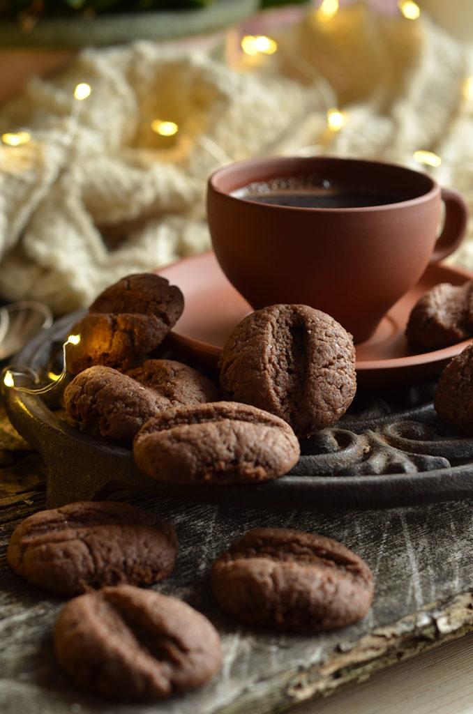 ciasteczka kawa