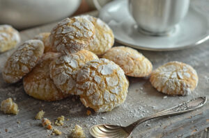 łatwe ciasteczka migdałowe