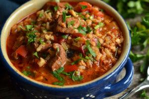 zupa gulaszowa gruzińska charczo