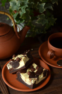 łatwe ciasto czekoladowe z serem