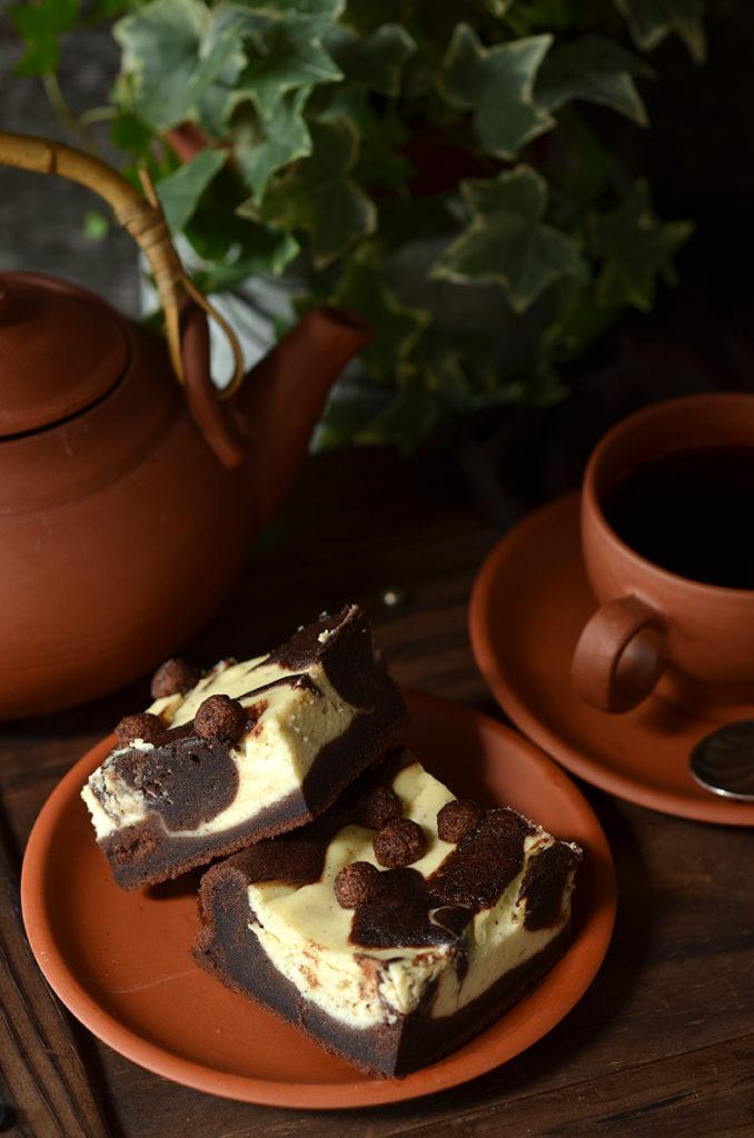 łatwe ciasto czekoladowe zserem