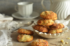 ciasteczka na białym serze