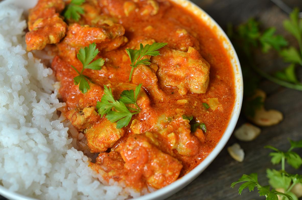 kurczak maślany - indyjski butter chicken
