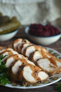 Łatwa pieczona pierś kurczaka