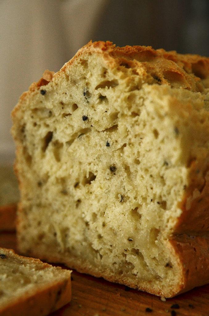 Łatwy chleb bezdrożdży