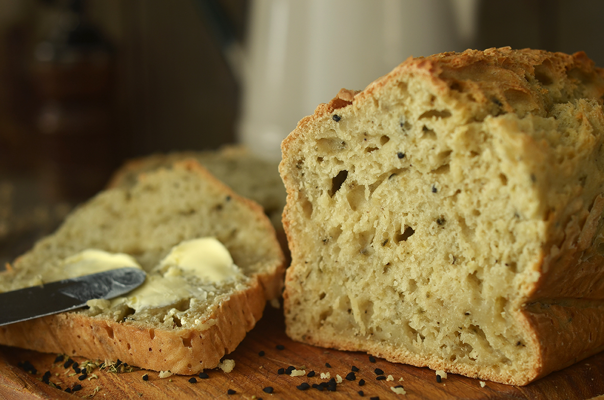 Łatwy chleb bez drożdży