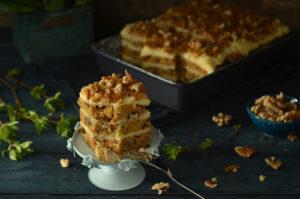 ciasto marcjewkowe i sernik gotowany