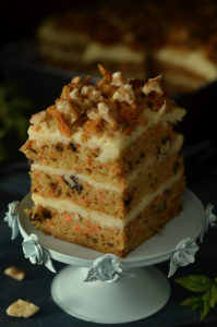 ciasto marchewkowe i sernik gotowany