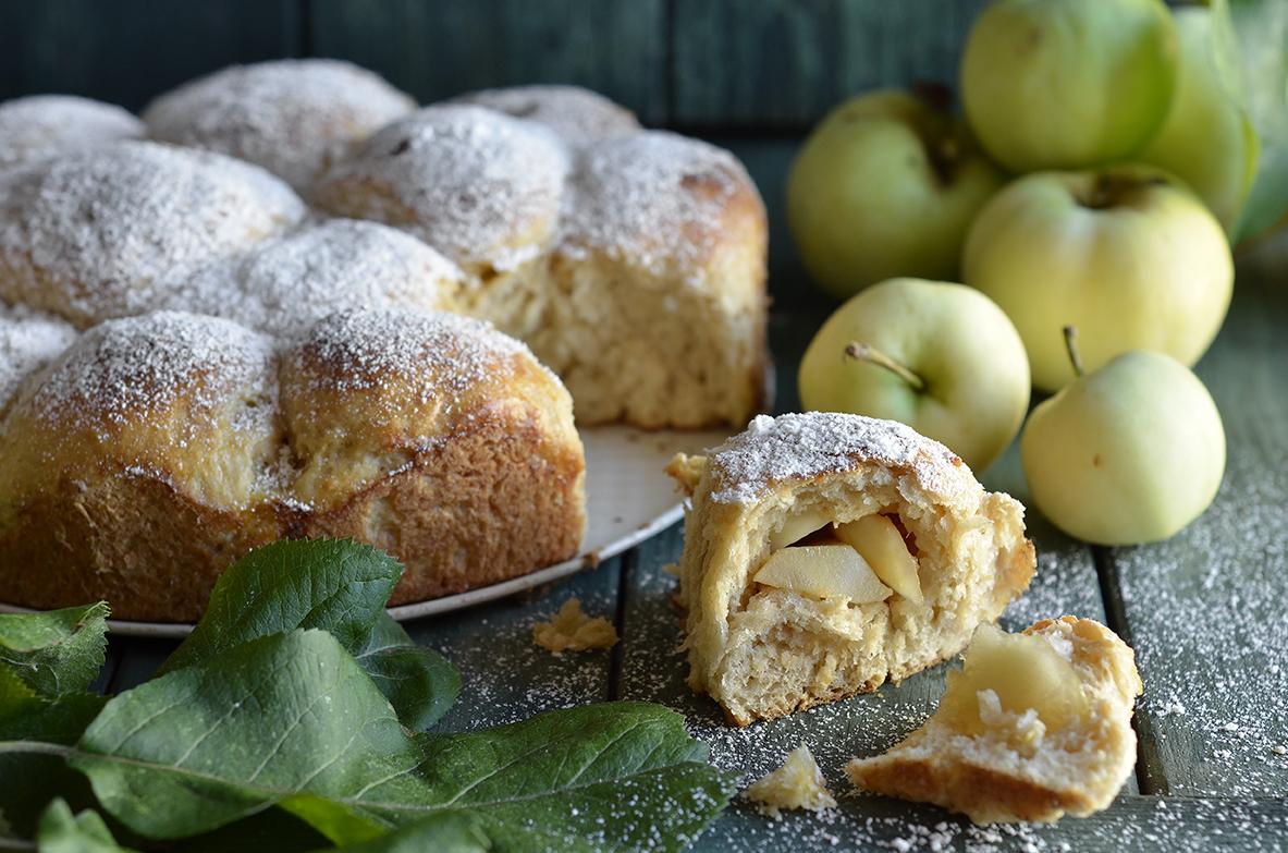 bułeczki z jabłkami