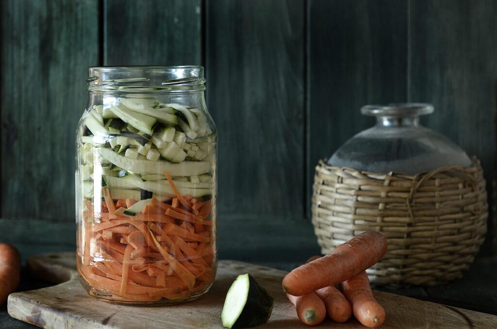 Warzywa piklowane pokoreańsku
